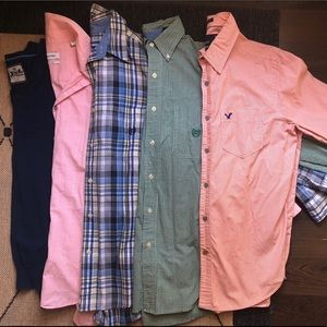 Other - Men's Shirt LOT Express, Calvin Klein, AE, Chaps